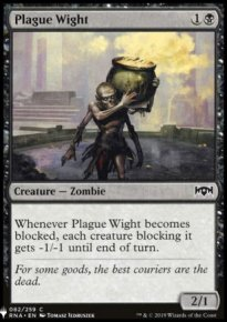 Plague Wight - Mystery Booster