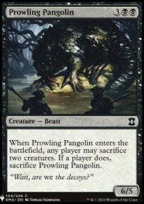 Prowling Pangolin - Mystery Booster
