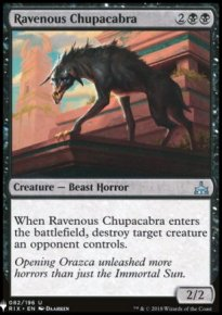 Ravenous Chupacabra - Mystery Booster