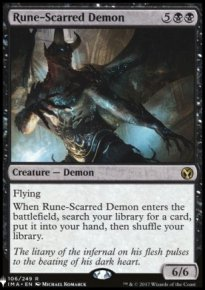 Rune-Scarred Demon - Mystery Booster