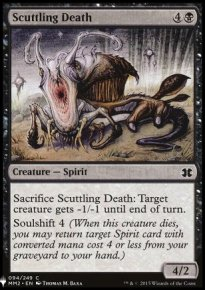 Scuttling Death - Mystery Booster