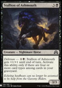 Stallion of Ashmouth - Mystery Booster