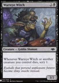 Warteye Witch - Mystery Booster