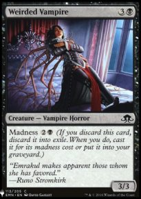 Weirded Vampire - Mystery Booster