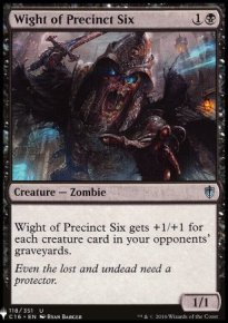 Wight of Precinct Six - Mystery Booster