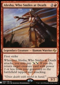 Alesha, Who Smiles at Death - Mystery Booster