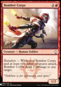 Bomber Corps - Mystery Booster
