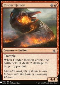 Cinder Hellion - Mystery Booster