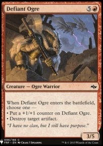 Defiant Ogre - Mystery Booster