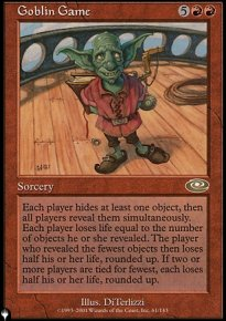 Goblin Game - Mystery Booster