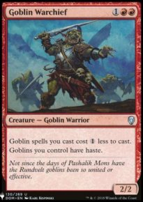 Goblin Warchief - Mystery Booster