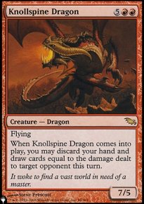Knollspine Dragon - Mystery Booster