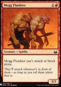 Mogg Flunkies - Mystery Booster