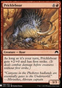Prickleboar - Mystery Booster