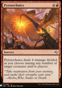 Pyrotechnics - Mystery Booster