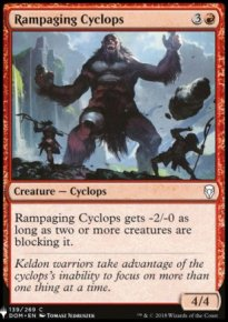Rampaging Cyclops - Mystery Booster