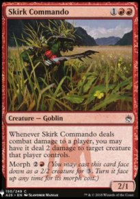 Skirk Commando - Mystery Booster