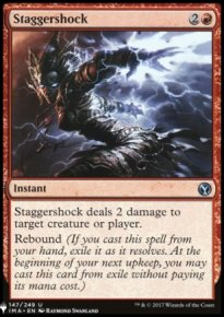 Staggershock - Mystery Booster