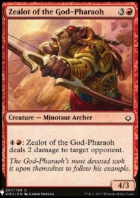Zealot of the God-Pharaoh - Mystery Booster