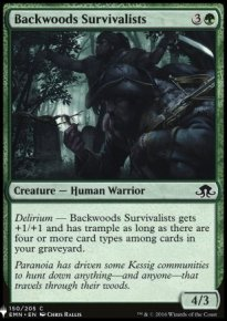 Backwoods Survivalists - Mystery Booster