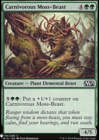 Carnivorous Moss-Beast - Mystery Booster