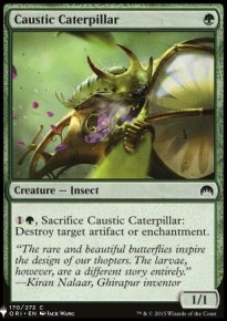 Caustic Caterpillar - Mystery Booster