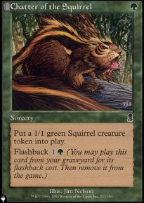 Chatter of the Squirrel - Mystery Booster