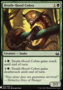 Death-Hood Cobra - Mystery Booster