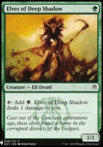 Elves of Deep Shadow - Mystery Booster