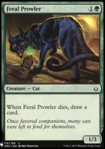 Feral Prowler - Mystery Booster