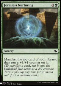 Formless Nurturing - Mystery Booster