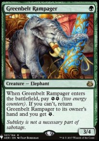 Greenbelt Rampager - Mystery Booster