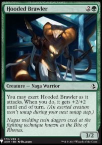 Hooded Brawler - Mystery Booster