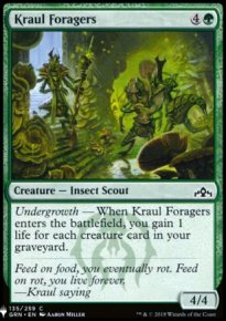 Kraul Foragers - Mystery Booster