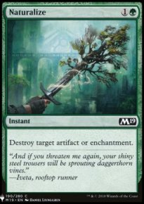 Naturalize - Mystery Booster