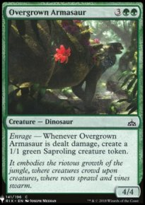 Overgrown Armasaur - Mystery Booster