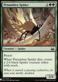 Penumbra Spider - Mystery Booster