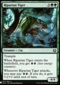 Riparian Tiger - Mystery Booster