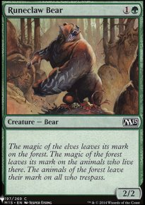 Runeclaw Bear - Mystery Booster