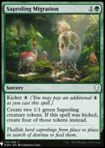 Saproling Migration - Mystery Booster
