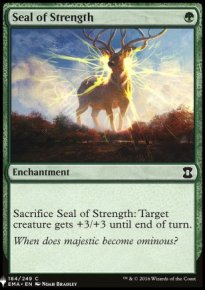 Seal of Strength - Mystery Booster