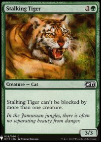 Stalking Tiger - Mystery Booster