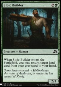 Stoic Builder - Mystery Booster