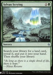 Sylvan Scrying - Mystery Booster