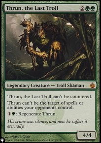 Thrun, the Last Troll - Mystery Booster