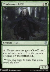 Timberwatch Elf - Mystery Booster
