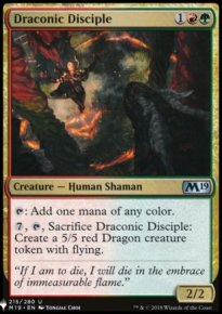 Draconic Disciple - Mystery Booster