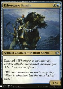 Ethercaste Knight - Mystery Booster