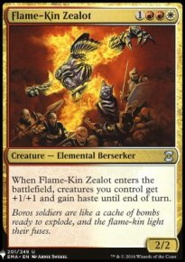 Flame-Kin Zealot - Mystery Booster