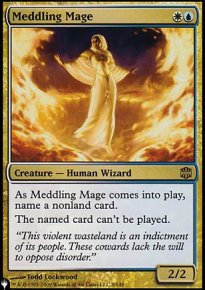 Meddling Mage - Mystery Booster